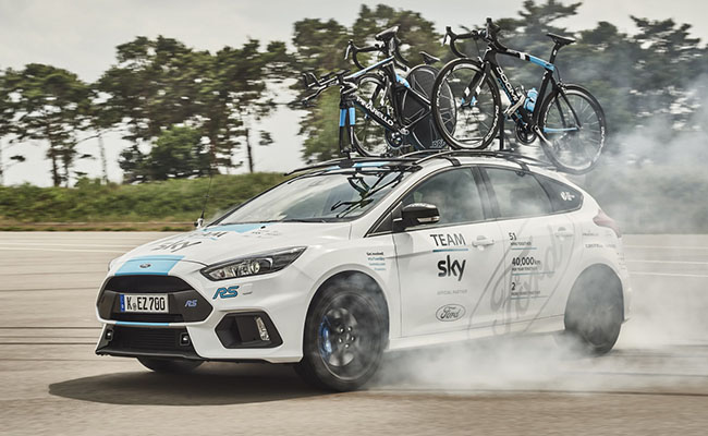 Ford Focus RS подготвен за Tour de France!
