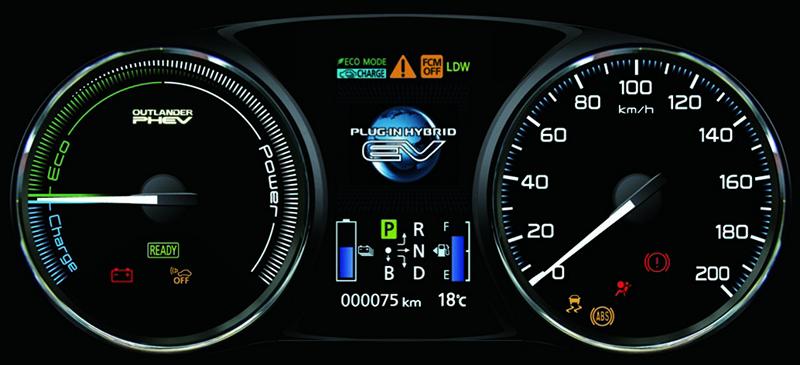 Mitsubishi Outlander PHEV tech (2)