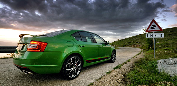 skoda-octavia-rs-tdi-rear-side-sign