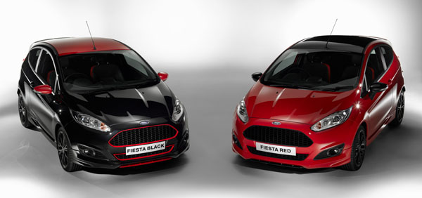 Ford Unleashes Punchy and Striking Fiesta Red Edition and Fiesta