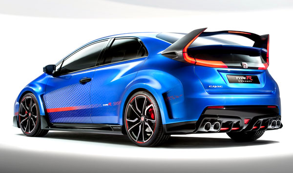 honda-civic-type-r-concept-rear