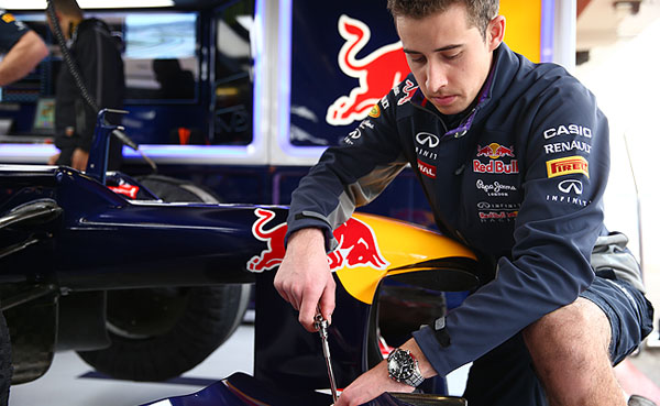 Red Bull Racing Filming Day One