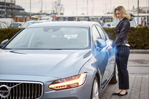 Volvo Cars digital key